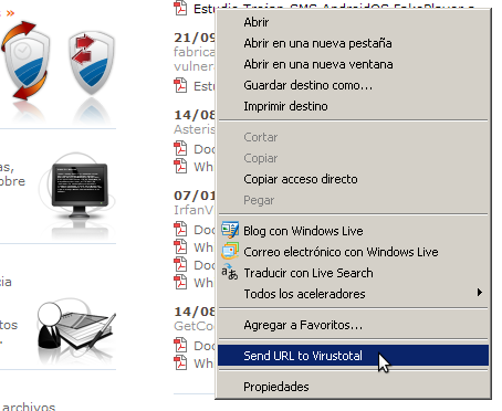 Browser Extensions – VirusTotal